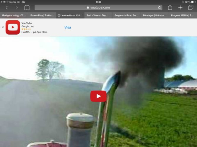 Lovly dieselsmoke!