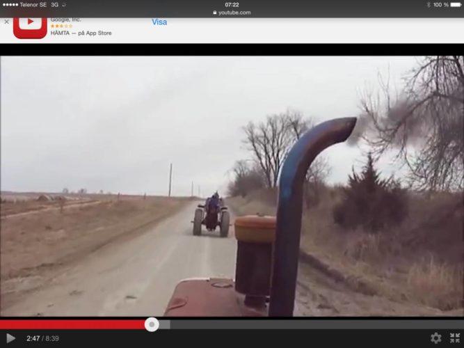 Detta är tractor-ride!