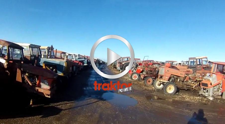 Europas största traktorskrot!