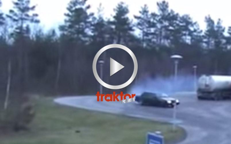 Drifting med Volvo!