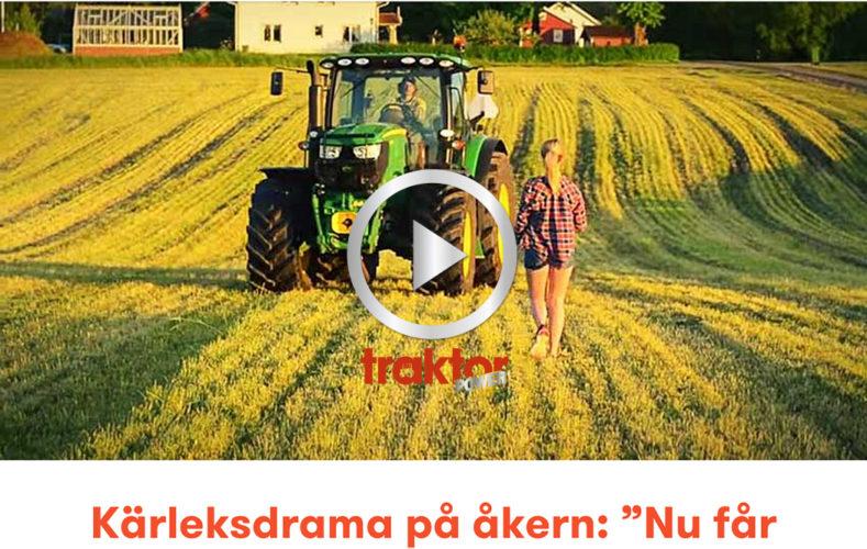 DU FÅR välja mig eller traktorn?