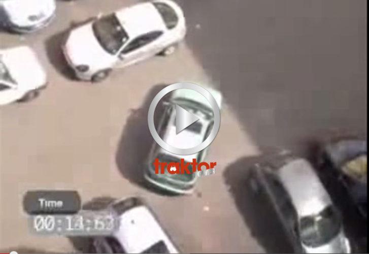 Världens sämsta bilparkerare!