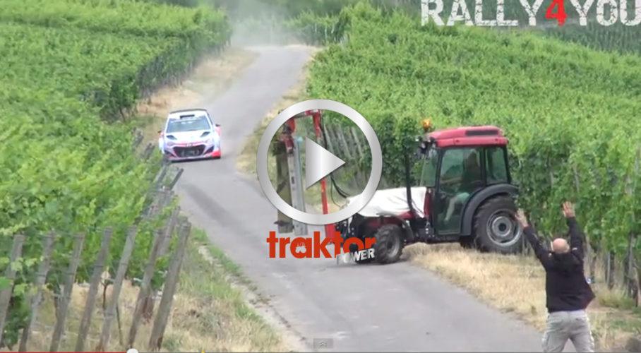 SE UPP, en traktor på vägen!!!