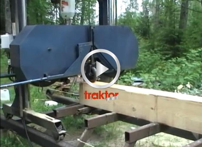 Hembyggt sågverk