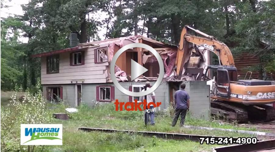 SPEED-rivning av huset!!!