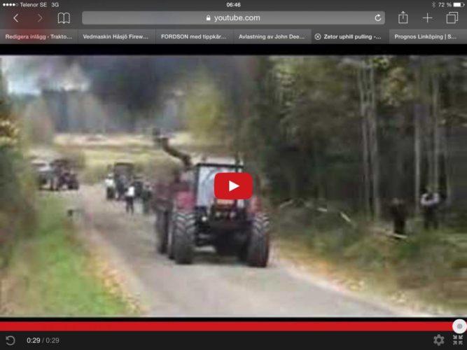 Zetor i upphill-pulling!