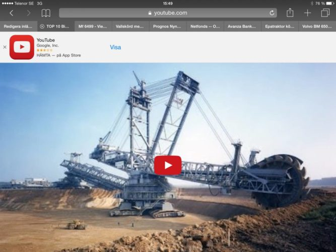 Världens 10 största land-maskiner!!!