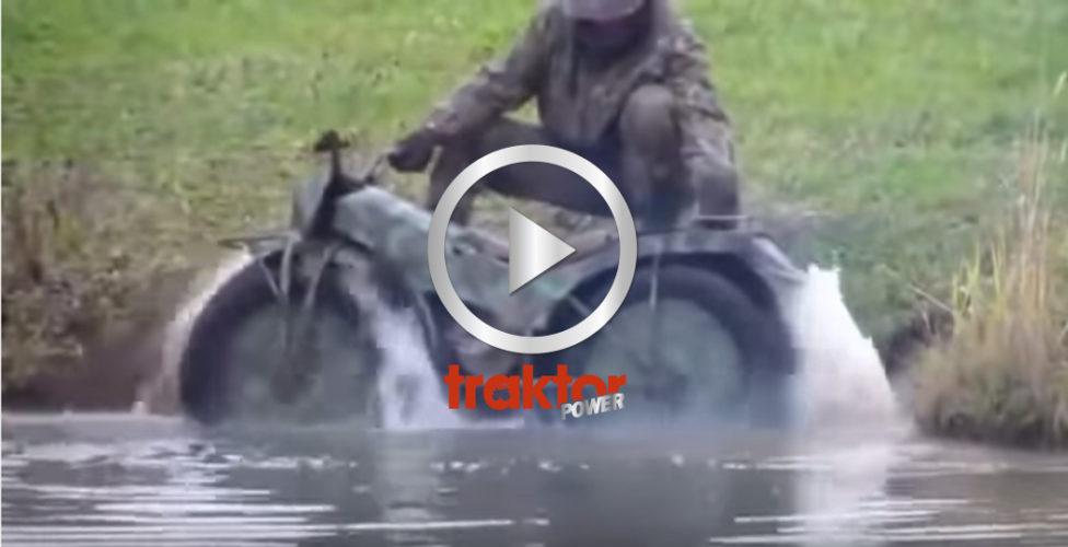 Terräng-bike som inte går att stoppa!