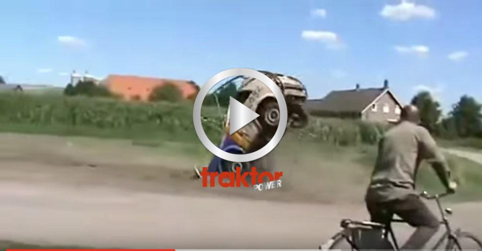 KOLLA hur bilen rullar!
