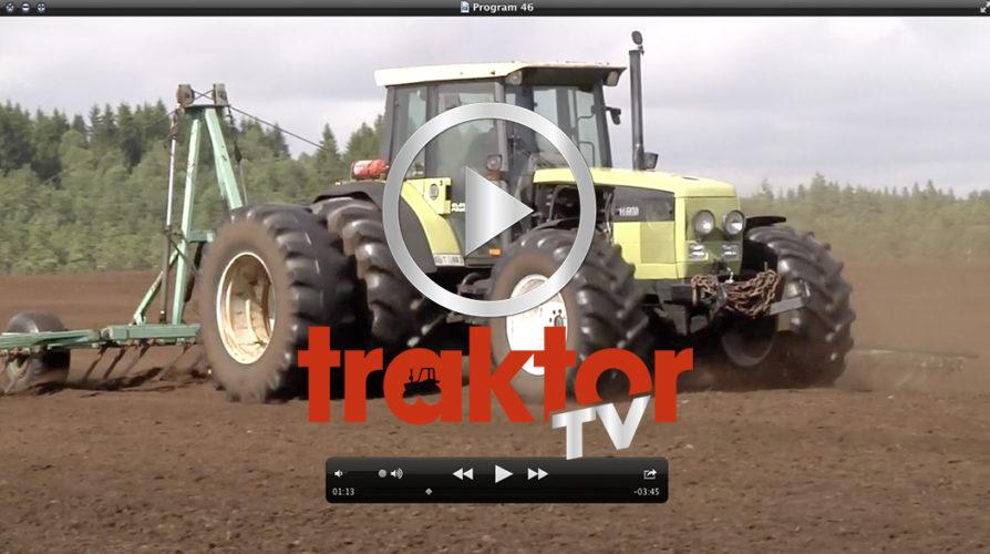 Traktor-TV drar ut på mossarna!