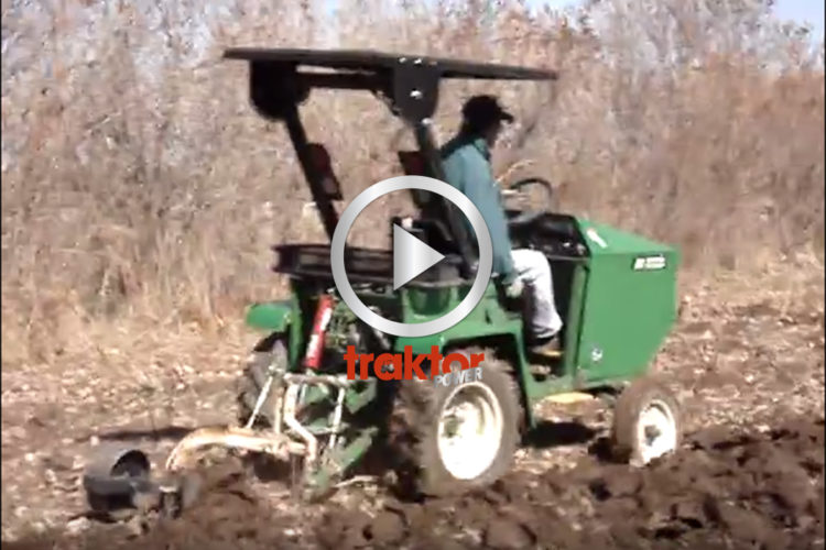 Kolla, en eldriven traktor!