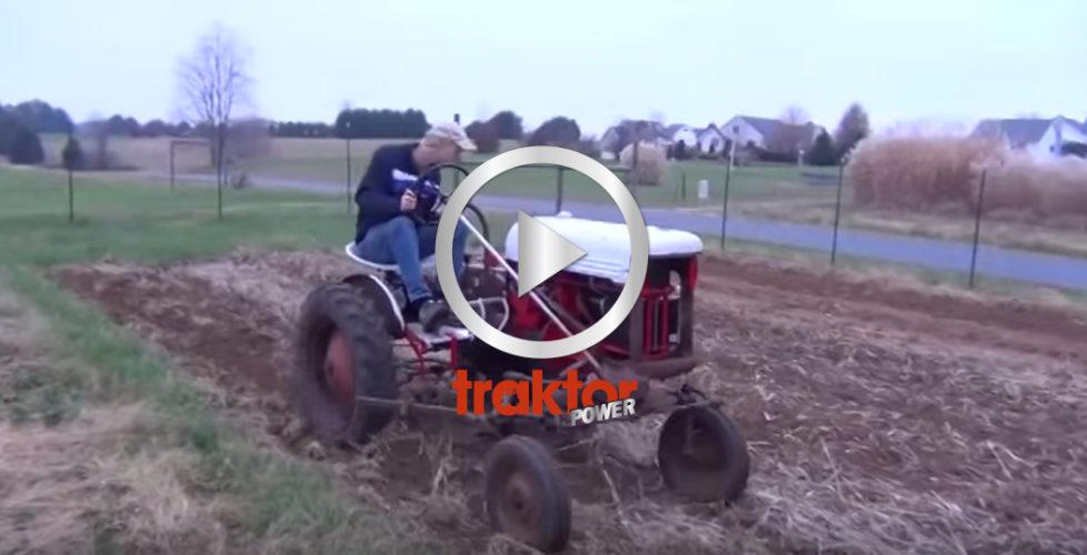 Hembyggd eltraktor