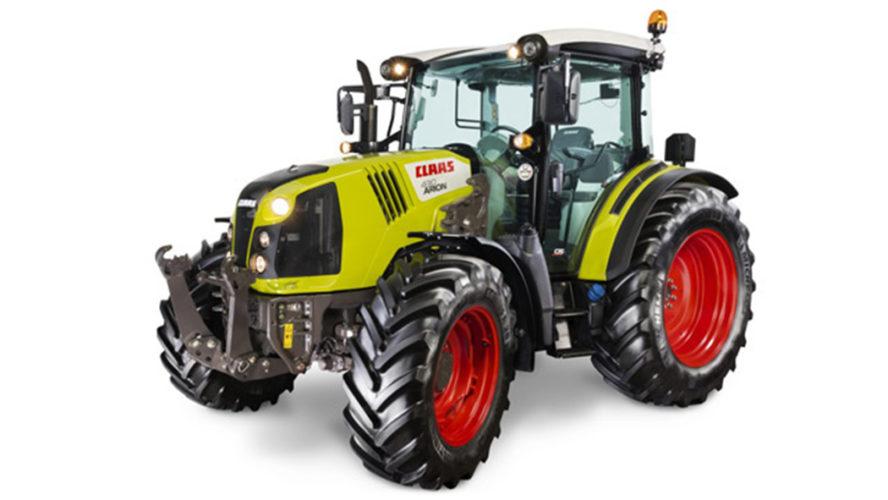 Claas-traktorer även i Finland