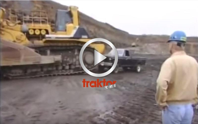Världens största bulldozer stavas Komatsu