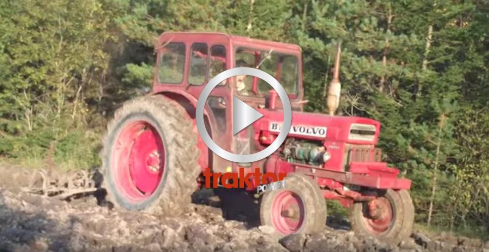 BM Volvo harvar i leran!