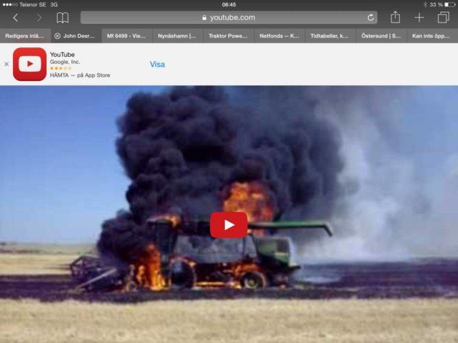 John Deere on Fire!