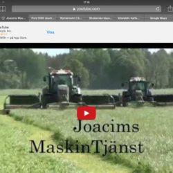 Fendt-traktorer med Butterfly-slåtterkross!