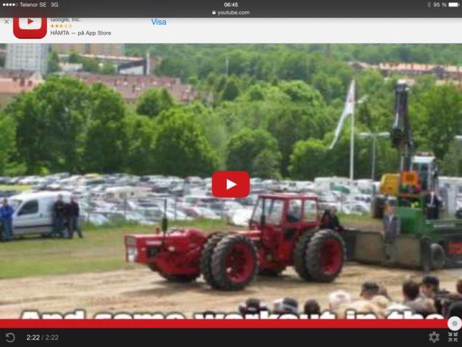 Tandem i traktorpulling.