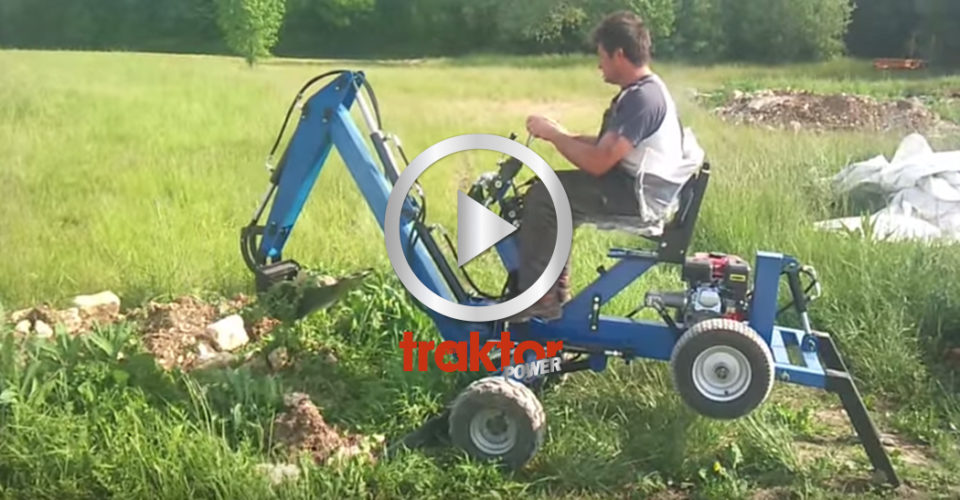 Kolla så fint det funkar att gräva.