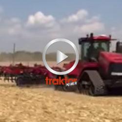 """Här har du hela """"line upen"""" inför stubbearbetningsshowen på amerikanska Farm Progress Show!"""