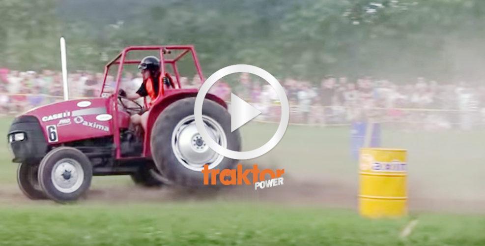 Case IH-traktorn racar med blixtens fart.