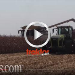 Claas skördar på Farm Progress Show!