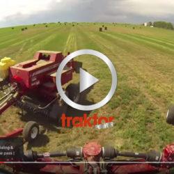 Två pressar bakom traktorn!