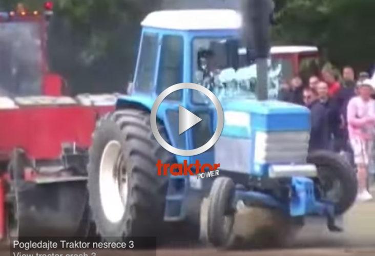 Fordtraktorn landar brutalt i leran!