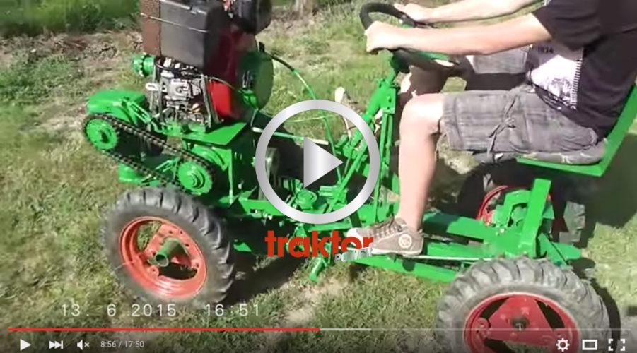HÄR ser du vad man kan göra i gårdsverkstaden. Den har 8 dieselhästar!