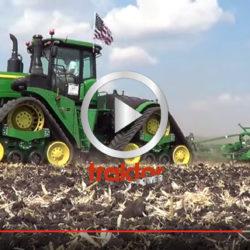 Största midjestyrda John Deere-traktorn med gummiband!