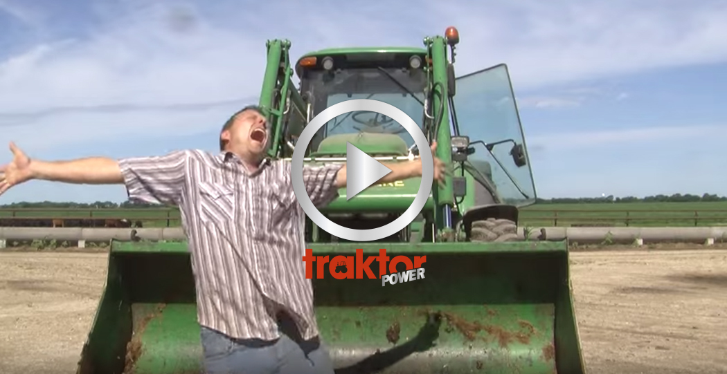 Do you want to drive my tractor?