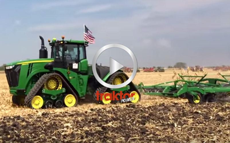 John Deere 9RX åremiärvisades på amerikanska mässan Farm Progress!