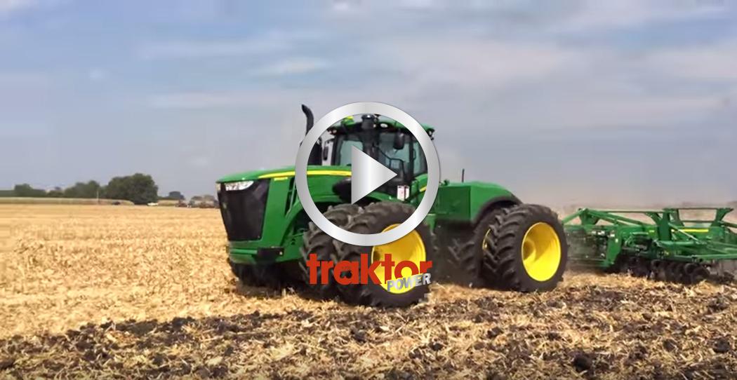 Mässan Farm Progress har hållits i USA och här kan du njuta av John Deere 9620R!