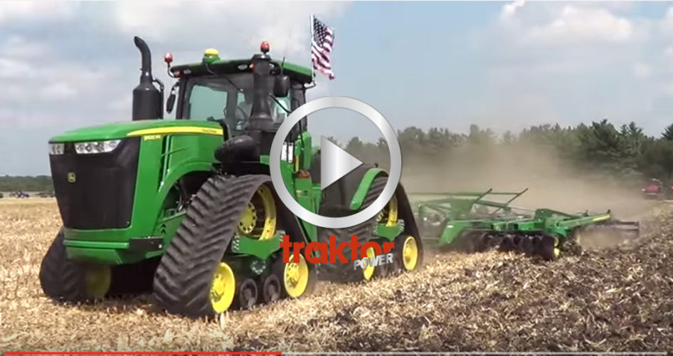 John Deere 9RX på Farm Progress Show!