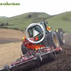 Traktorn kanar i sidolutet!