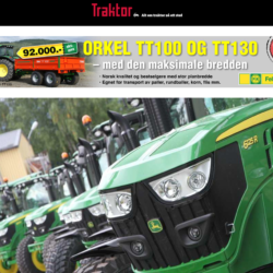 13 JOHN DEERE, TACK! Felleskjøpets traktorhandlare höll på att tappa hakan när en kund kom in och på ett bräde köpte 13 traktorer. Dessutom köpte kunden ytterligare 7 traktorer av Eikmaskin som bland annat säljer Massey Ferguson och Fendt, skriver norska webbplatsen traktor.no.