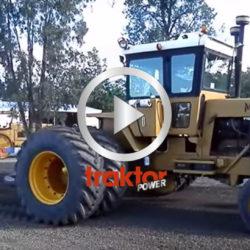 Traktorpulling med Upton!