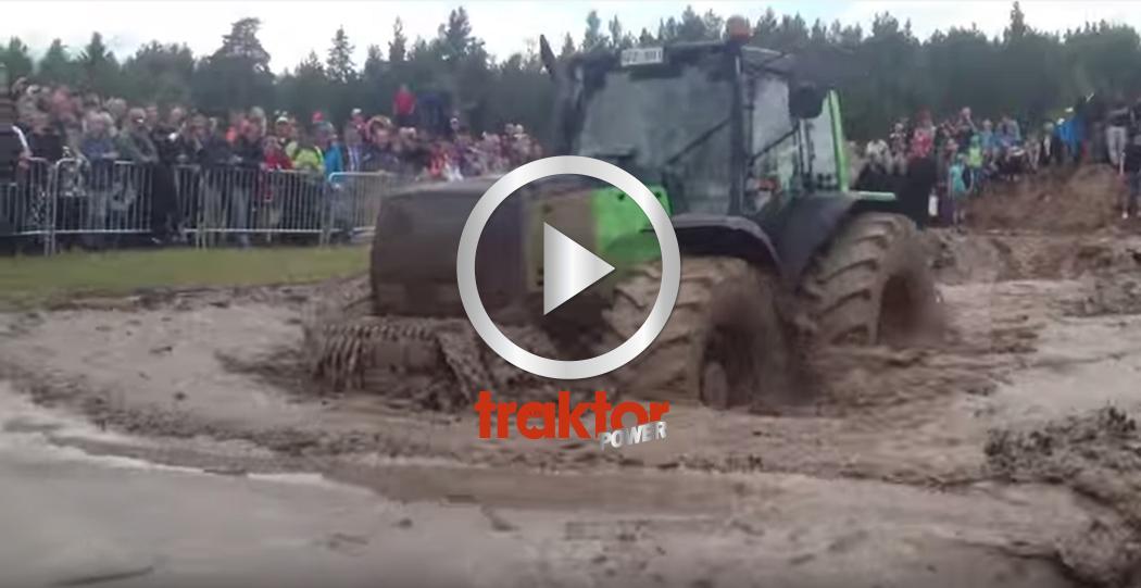 EN baggis! Detta är Målilla Traktor Power Weekend