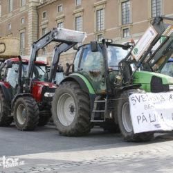 Tractor Convoy i Stockholm.