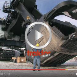 HAR du sett P&H 4100 AC? Vilken fantastisk skopa!!! Detta är en super-grävare modell störst!