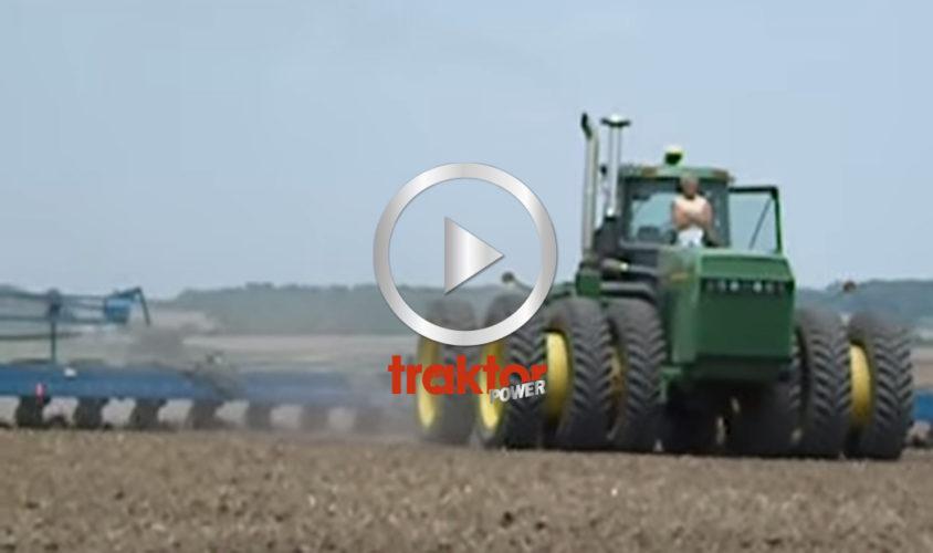 Traktorn är gps-styrd!