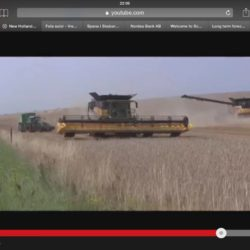 New Holland CR10.90 in action!