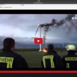 Eld i vindkraftverk!