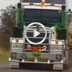Här snackar vi riktigt långa lastbilar.