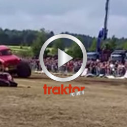 Monstertruck-olycka i Finland.