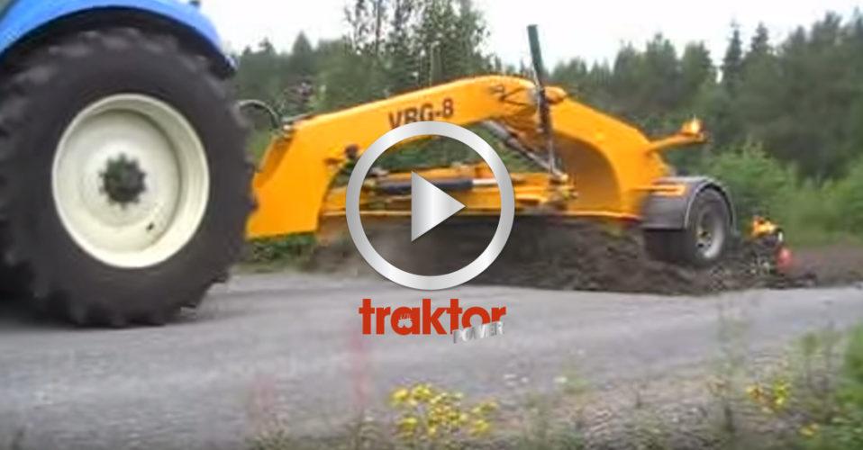 KOLLA hur den stora monstersladden funkar på grusvägen!!!