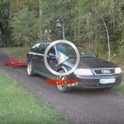 Kan en Audi dra vägsladden???