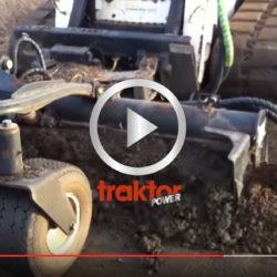SÅ blir grusvägen när Bobcaten kört över med rotormarkberedare!!!