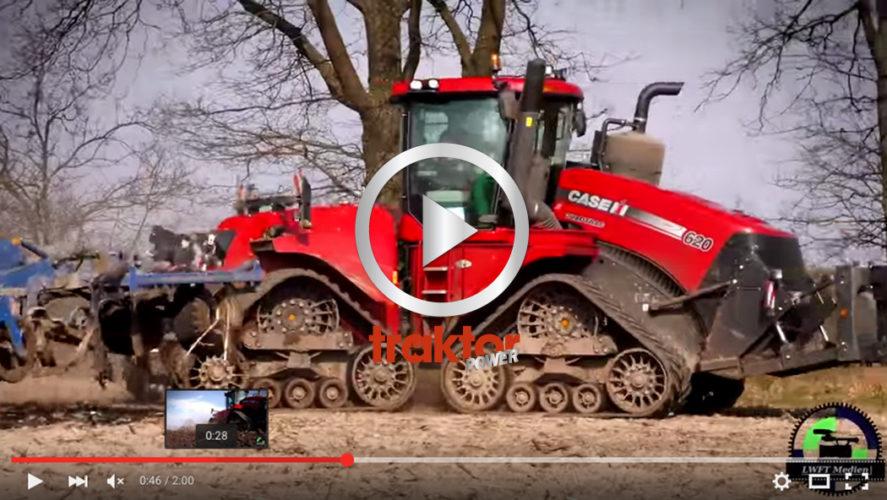Besten Case IH 620 jobbar med tung jordbearbetning!!!