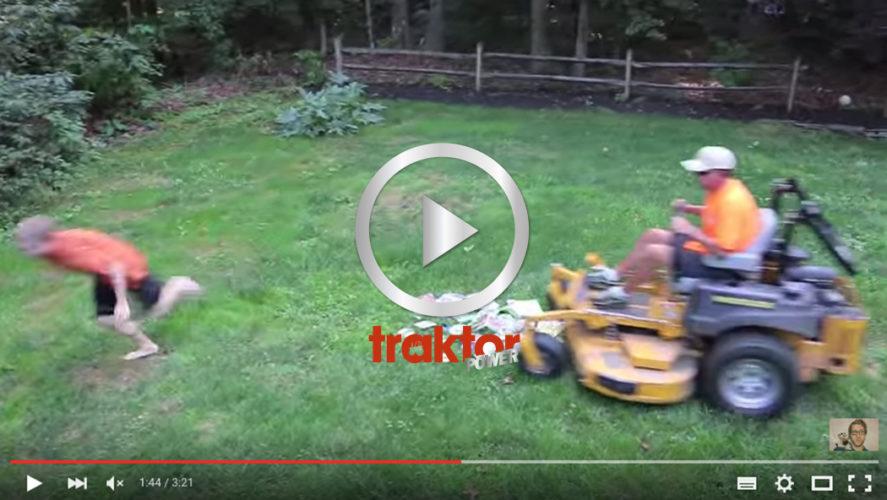 Vad kör gräsklipparen över i sin attack!!!